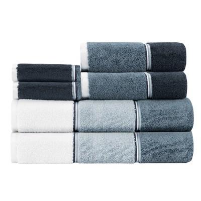 6pc Maya Bath Towel Set Denim - Caro Home