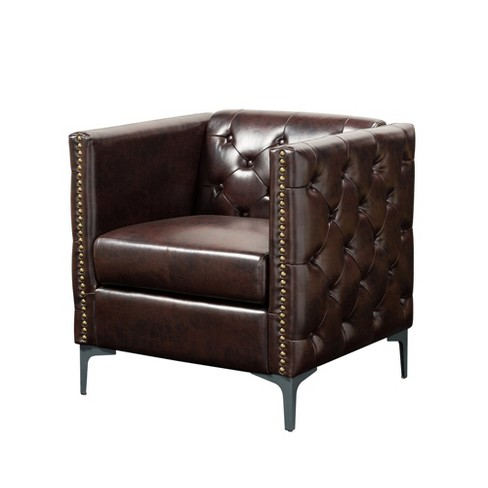 Vern Upholstered Accent Chair - miBasics - image 1 of 4