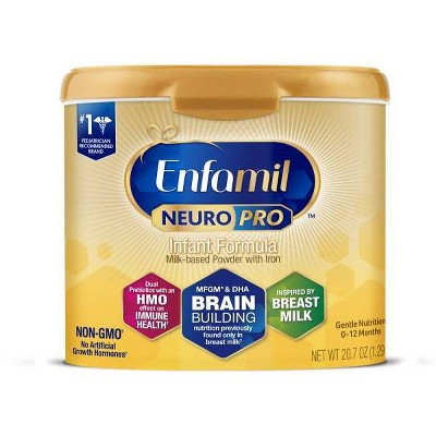 Enfamil NeuroPro Infant Formula Powder Tubs (Select Count)