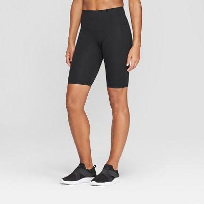 Women's Everyday High-Waisted Bike Shorts - C9 Champion® Black L