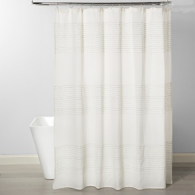 Stripe Shower Curtain Smoke Green - Project 62™
