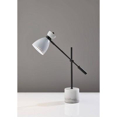 Sadie Desk Lamp White - Adesso