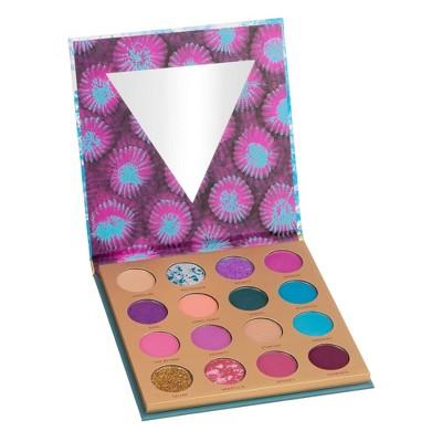 Color Story 16 Shade Pressed Pigment Eyeshadow Palette - Ocean Oasis - 0.54oz