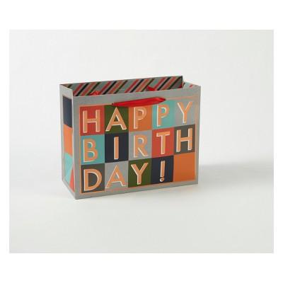 Happy Birthday Blocks Gift Bag - Spritz™