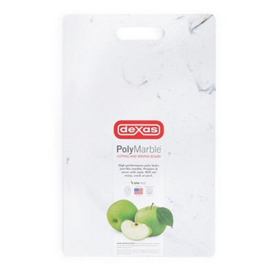 Dexas Poly Marble Cutting Board