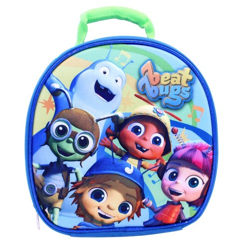"Beat Bugs® 9"" Lunch Bag with Hands Free Clip & Allergy Window - image 1 of 3"