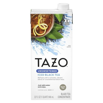 Tazo Concentrate Unsweetened Iced Black Tea - 32oz