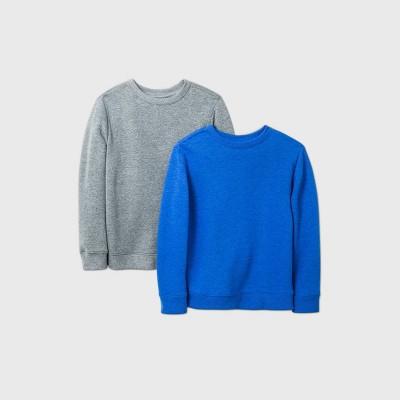 Boys' 2pk Fleece Pullover Sweatshirt - Cat & Jack™