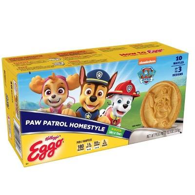 Eggo PAW Patrol Frozen Waffles - 12.3oz/10ct