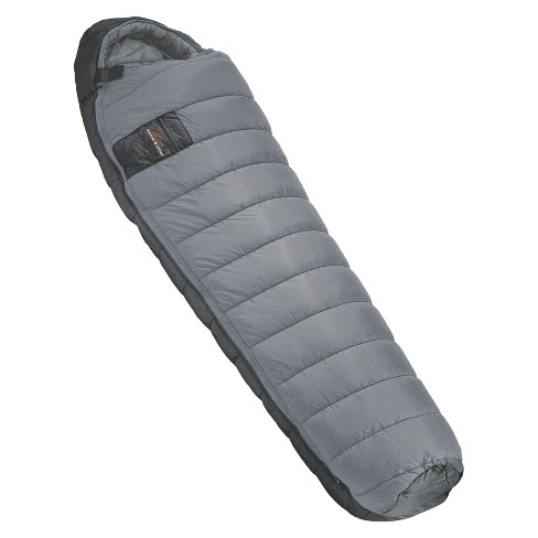 "Suisse Sport Mummy Sleeping Bag- Gray (33""x84""x24"") - image 1 of 1"