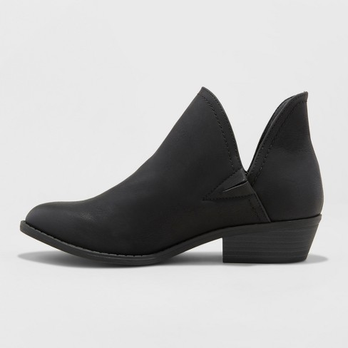 Women s Nora V-Cut Ankle Booties - Universal Thread™   Target 631727ce0