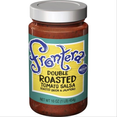 Frontera Gourmet Mexican Double Roasted Tomato Salsa 16oz