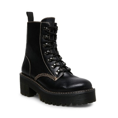 Madden Girl Hawke Lace-Up Combat Boot