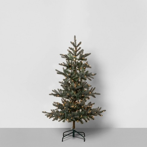 Pre-Lit Artificial Tree - Hearth & Hand™ with Magnolia - image 1 of 4