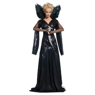 Adult Queen Ravenna Deluxe Halloween Costume Black