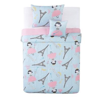Paris Princess Comforter Set Pink - My World