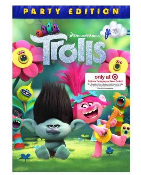 Trolls - Target Exclusive (Blu-ray + DVD + Digital) - image 1 of 1