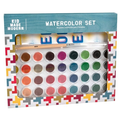 Kid Made Modern 36ct Watercolor Paint Set - image 1 of 3