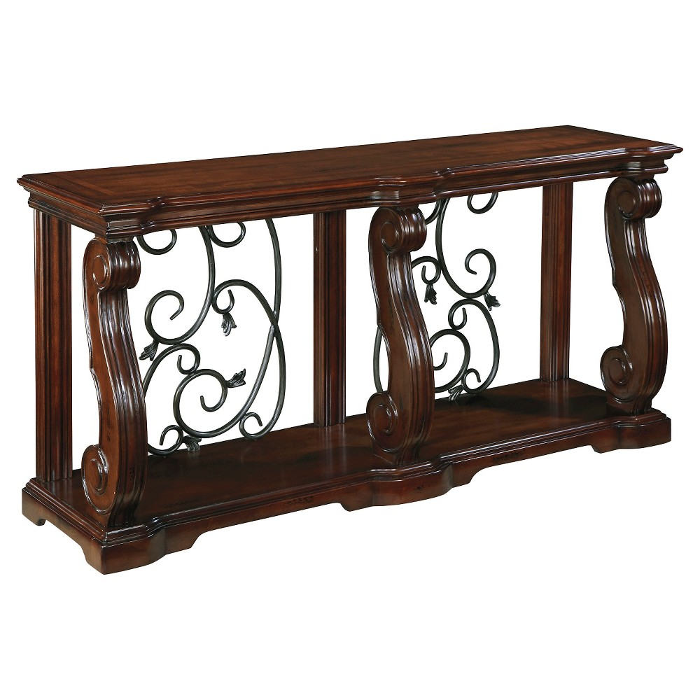 Alymere Console Table - Rustic Brown - Signature Design by Ashley