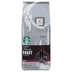Starbucks French Roast Dark Roast Ground Coffee - 20oz