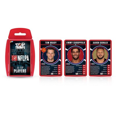 Top Trumps NFL Players Association Top 30 Top Trumps Card Game