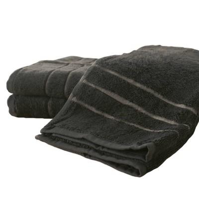 3pc Rayon from Bamboo Hand Towel Set Onyx - Cariloha