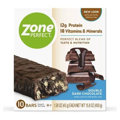 ZonePerfect Protein Bar Double Dark Chocolate - 10 ct/15.8oz