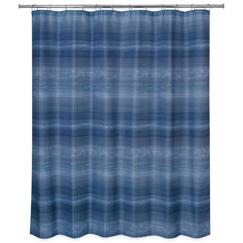 Dash Shower Curtain Blue - Allure Home Creation Reviews