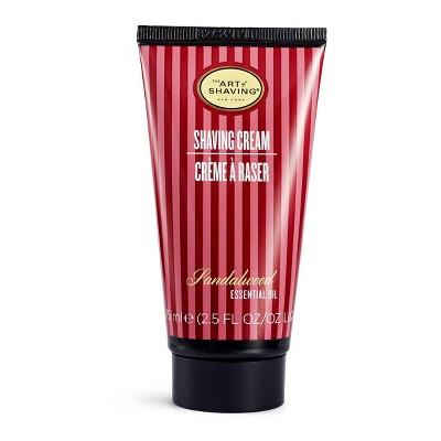 The Art Of Shaving Men's Sandalwood Shaving Cream Tube - 2.5oz