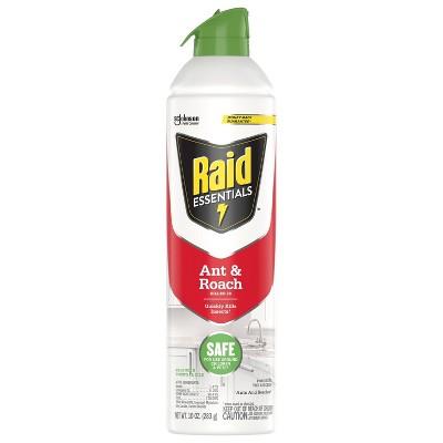 Raid Essential Oils Ant and Roach Spray - 10oz