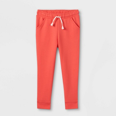 Toddler Girls' French Terry Solid Jogger Pants - Cat & Jack™