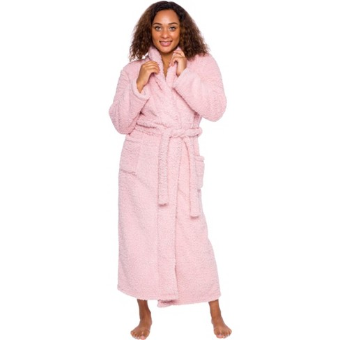 Silver Lilly Womens Luxury Sherpa Robe - image 1 of 4
