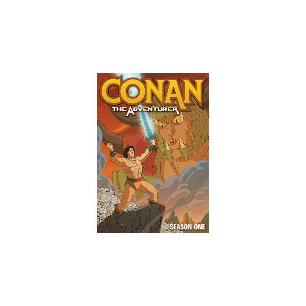 Conan The Adventurer Season 1 Dvd 2011