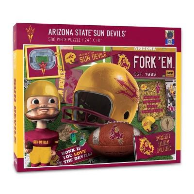 NCAA Arizona State Sun Devils Throwback Puzzle 500pc