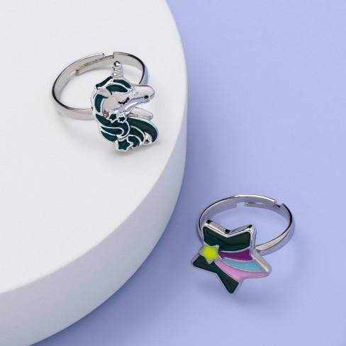 Girls' Star and Unicorn Ring - More Than Magic™ - image 1 of 1