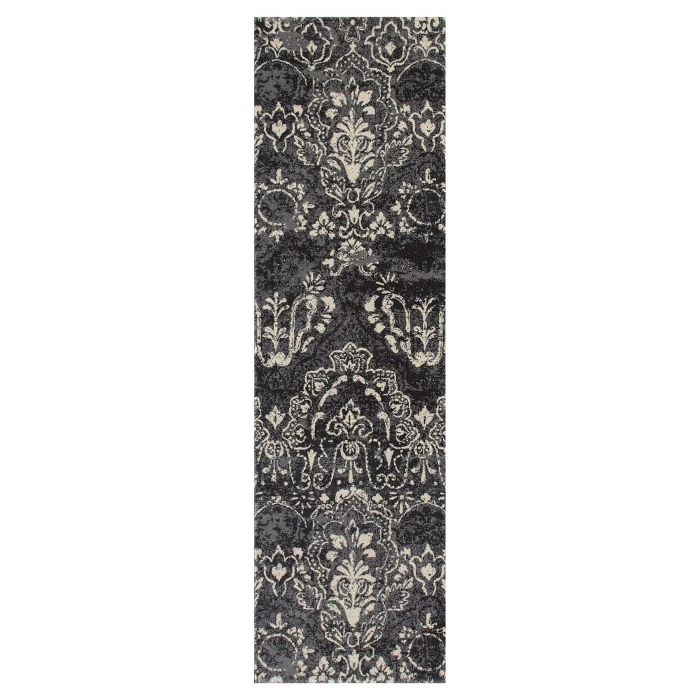 Gray Classic Woven Runner - (2'X8') - Art Carpet