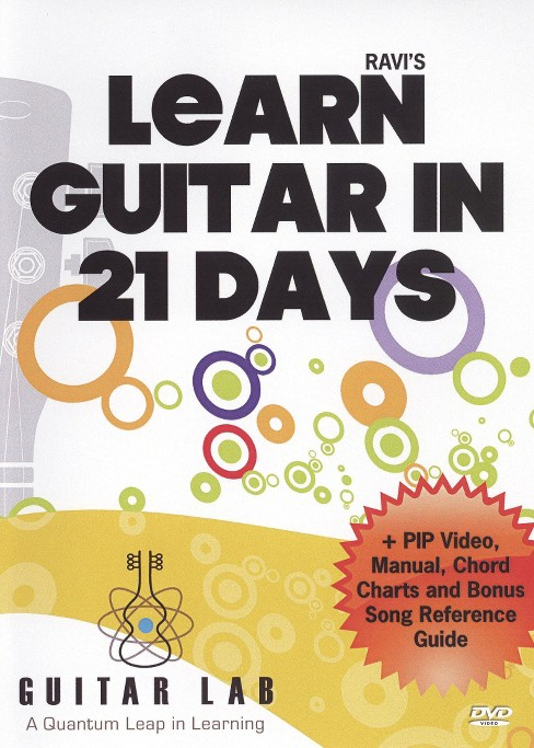 Learn to play guitar in 21 days (DVD) - image 1 of 1