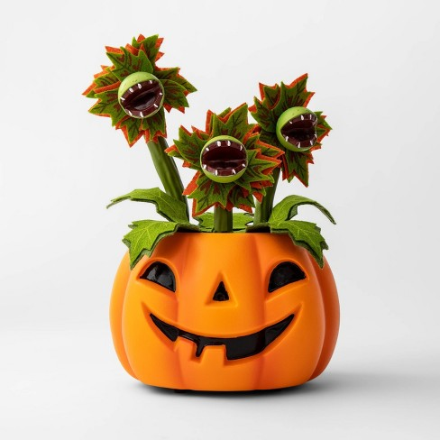 Animated Pumpkin with Dancing/Singing Vines Halloween Dcor - Hyde & EEK! Boutique™ - image 1 of 1