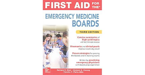 First Aid for the Emergency Medicine Boards (Paperback) (Barbara K. Blok) - image 1 of 1