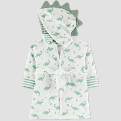 Baby Boys' Dino Bath Robe - Just One You® made by carter's Green One Size