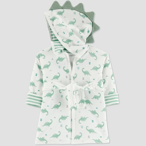 Baby Boys' Dino Bath Robe - Just One You® made by carter's Green One Size - image 1 of 1
