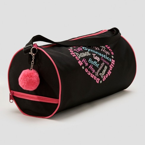 Freestyle by Danskin Girls' Dance Duffel Bag - Black - image 1 of 3