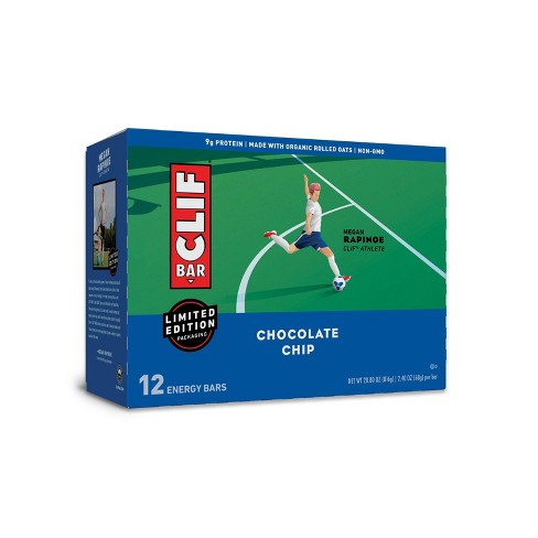 CLIF Bar Chocolate Chip Energy Bars - 12ct - image 1 of 4
