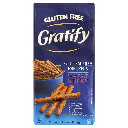 Gratify Salt Pretzels 14.1 oz 6 pk - image 1 of 1