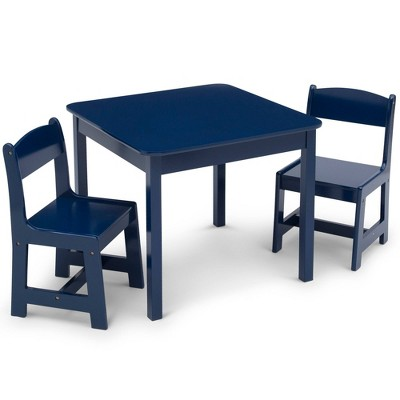 Delta Children MySize Kids' Wood Table and Chair Set 2 Chairs Included