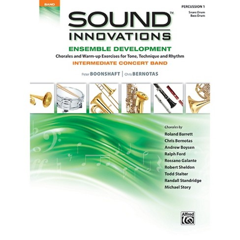 Alfred Sound Innovations Concert Band Ensemble Development Percussion 1 Book - image 1 of 1