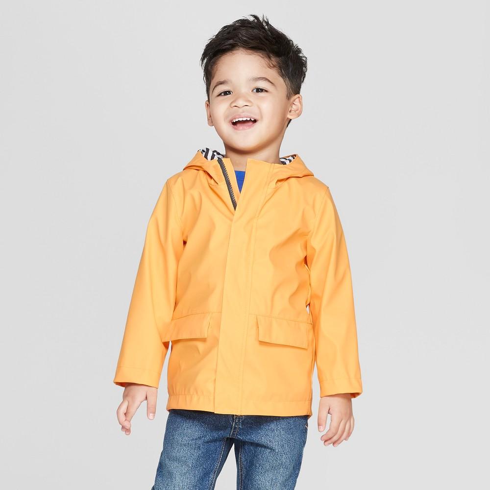 Toddler Boys' Rain Coat - Cat & Jack Yellow 5T