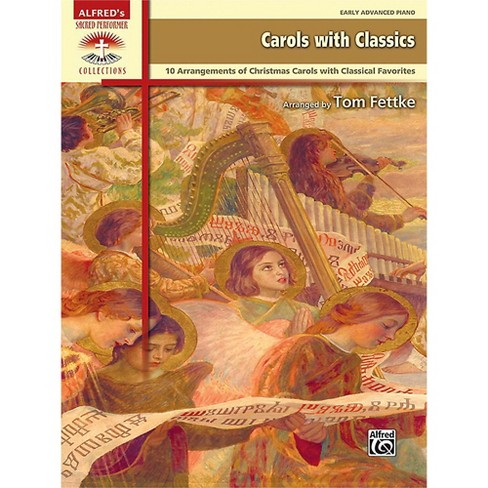 Alfred Carols with Classics Early Advanced Piano Book - image 1 of 1