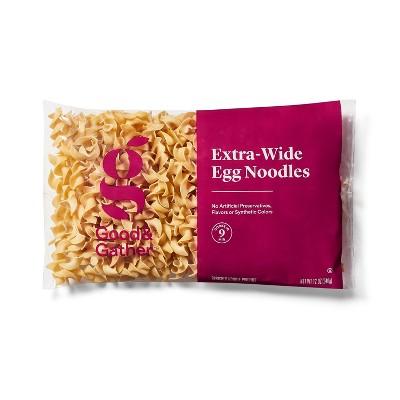 Extra-Wide Egg Noodles - 12oz - Good & Gather™