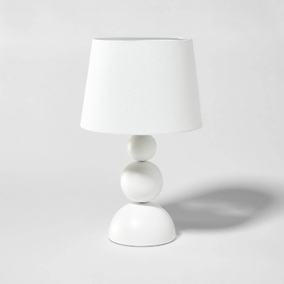 Modern Ball Table Lamp (Includes LED Light Bulb)Sour Cream - Pillowfort™